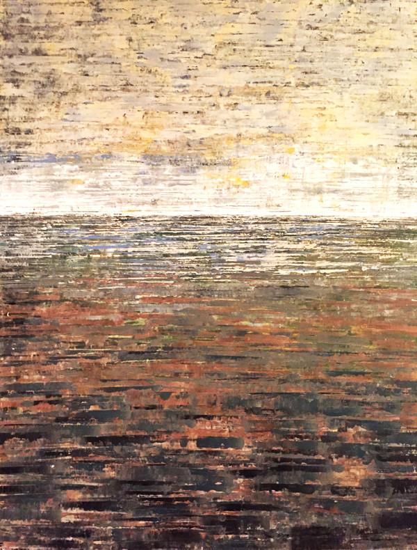 A new day. 120x150 cm acryl på canvas