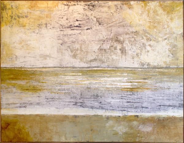 Ocean view. 150x115 cm acryl på canvas